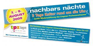 Banner Wiedereröffnung Professorenhaus Lingen