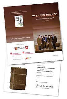 Einladung Theaterstück WECH VAN TOHUUSE - Copyright welt-gestalten.de