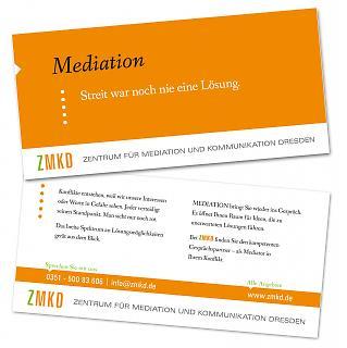 Flyer ZMKD - Mediation - Copyright welt-gestalten.de