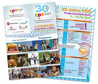 Folder 30 Jahre TPZ - Copyright tpzlingen.de