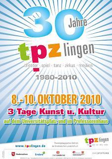 Plakat 30 Jahre TPZ - Copyright tpzlingen.de