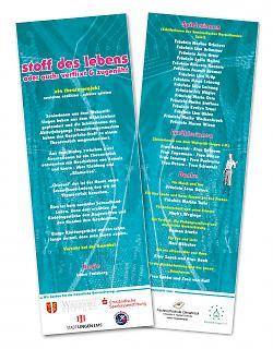 "Programmheft Theaterstück ""Stoff des Lebens"" - Copyright welt-gestalten.de"