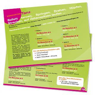 Programmheft 2010/11 - Innenansicht 1 - Copyright tpzlingen.de
