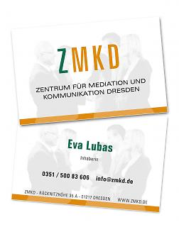 Visitenkarte ZMKD - Copyright welt-gestalten.de