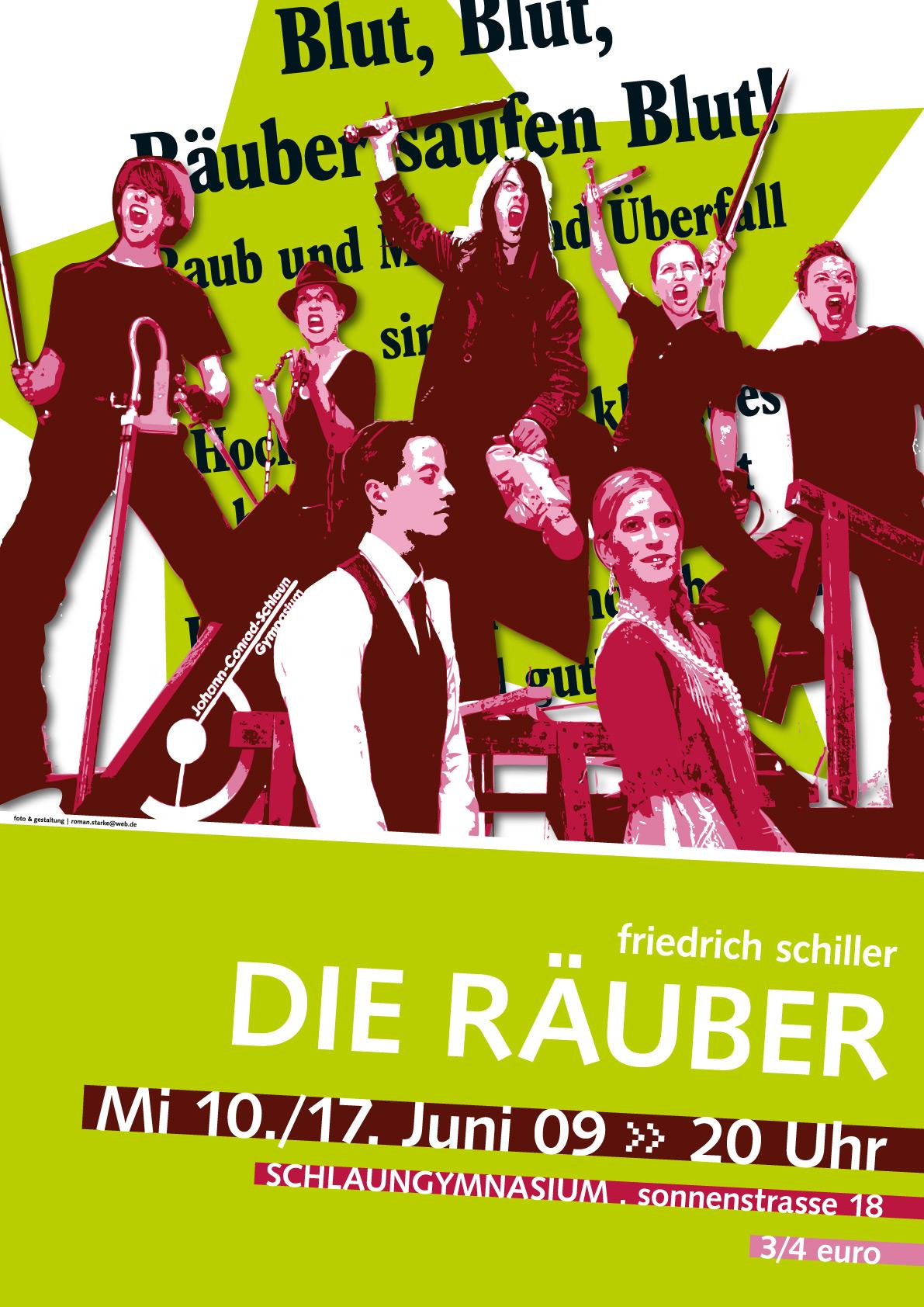 Plakat Theaterstück \