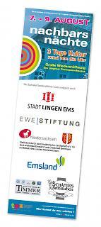 Sponsorenbanner Wiedereröffnung Professorenhaus Lingen 2