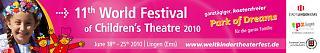 Banner 11. Welt-Kindertheater-Fest 2010 - Copyright Stadt Lingen