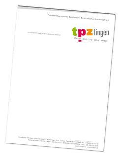 Briefpapier TPZ Lingen