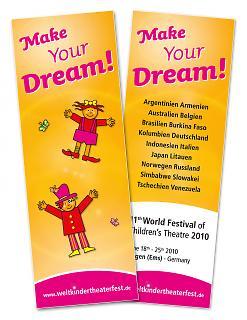 Lesezeichen 11. Welt-Kindertheater-Fest 2010 - Copyright Stadt Lingen