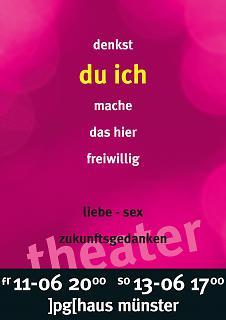 "Plakat ""Denkst du ich mache das hier freiwillig"" - Copyright welt-gestalten.de"