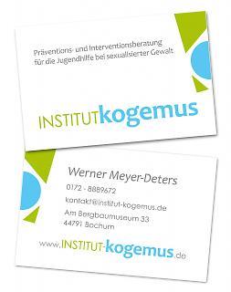 Visitenkarte Institut Kogemus - Copyright welt-gestalten.de
